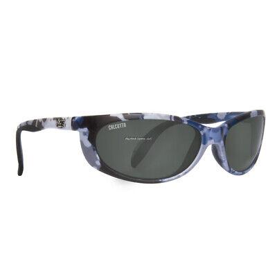 New Calcutta Smoker Sunglasses True Timber Blue Camo/Gray 60mm Lens (Camo Calcutta Sunglasses)
