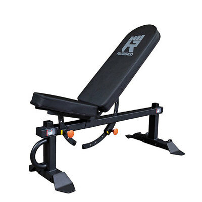 Rugged Flat Incline Bench Y001 1500 lb Capacity Home and Com