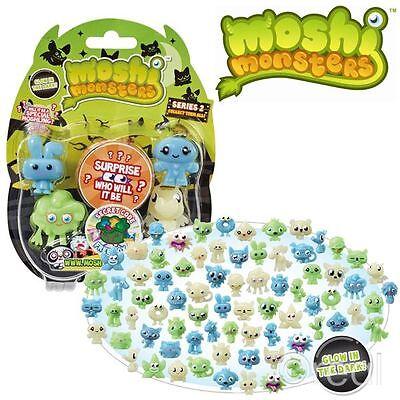 New Moshi Monsters Glow In The Dark Halloween Season 2 5 Figure Pack Official