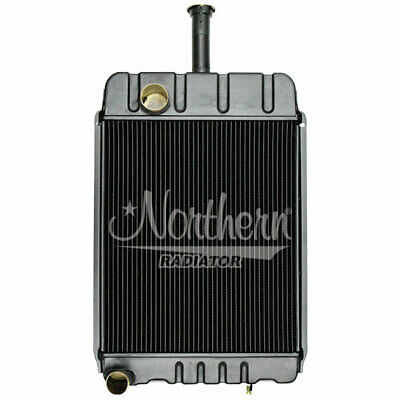 Caseih Tractor Radiator Fits Late 730 830 Models Wo Oil Cooler 219834