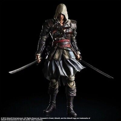 Edward Kenway Figure Assassin's Creed IV Black Flag Square Enix Statue - Edward Kenway Kids