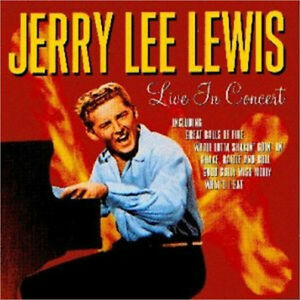 Jerry Lee Lewis-Live in Concert cd-great condition