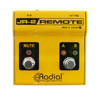 RADIAL JR-2 footswitch for FIREFLY DI (MINT - like new)