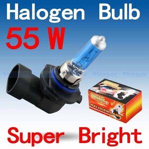 Ampoules (2) Xenon 9006/HB4 55W 5000K super white bulb set