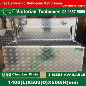 1400mm long 500mm height top open toolbox