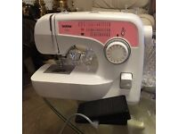 Brother sewing machine almost brand new