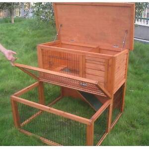 ♥♥♥♥  Rabbit Hutch Brand New + Run ♥♥♥♥ Londonderry Penrith Area Preview