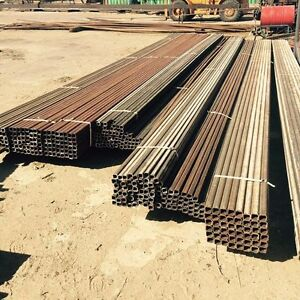 SQUARE TUBING STEEL AND STRAIGHTENED COIL