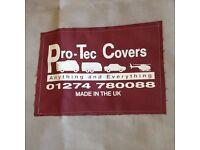 Universal Caravan Towing Cover