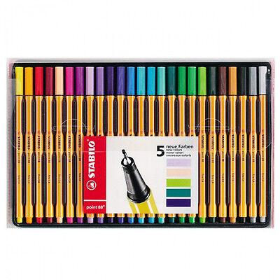 Stabilo Point 88 - 0.4mm - 25 Colour Pen Set