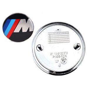 Logo-Stemma-Iniziali-BMW-Pacchetto-M-per-cofano-Diametro-di-82-mm