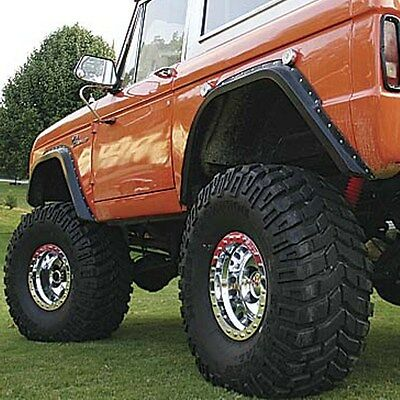 Wild Horses Gorilla Warflares Fender Flares 1966 - 1977 Ford Bronco (Set of 4)
