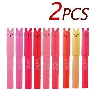 TONYMOLY-Petite-Bunny-Gloss-Bar-2pcs-Korea-cosmetic
