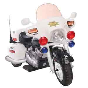 ONE seater battery operated motorcycle child ride on