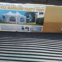 Marquis party tent