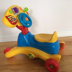 Vtech ride on. Great condition! 3-in-1 Smart Wheels Gatineau Ottawa / Gatineau Area image 1