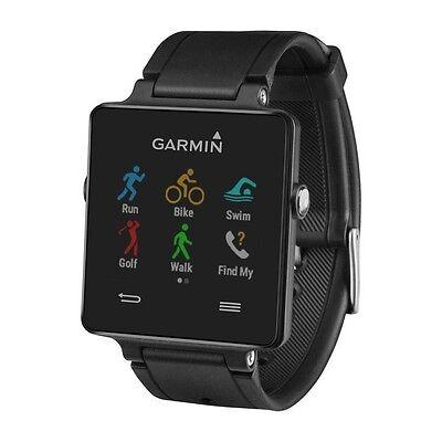 Garmin Vivoactive Smart Watch Activity Monitor Running GPS Gym Phone Wrist Black