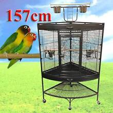 Warehouse direct 157cm corner bird cage with gym Riverwood Canterbury Area Preview