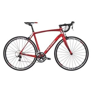 Vélo Raleigh Revenio Carbone rouge