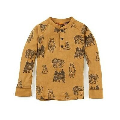 Tailor Vintage Boys Long Sleeve Pullover, Honey, Size 12
