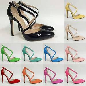 WOMENS-LADIES-PARTY-BRIDAL-PATENT-HIGH-HEELS-SHOES-SANDALS-TOE-SIZE-UK-2-9