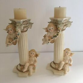 Candle angel holders