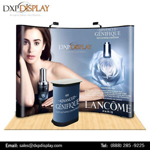 Curved Trade Show Booth of high quality aluminium