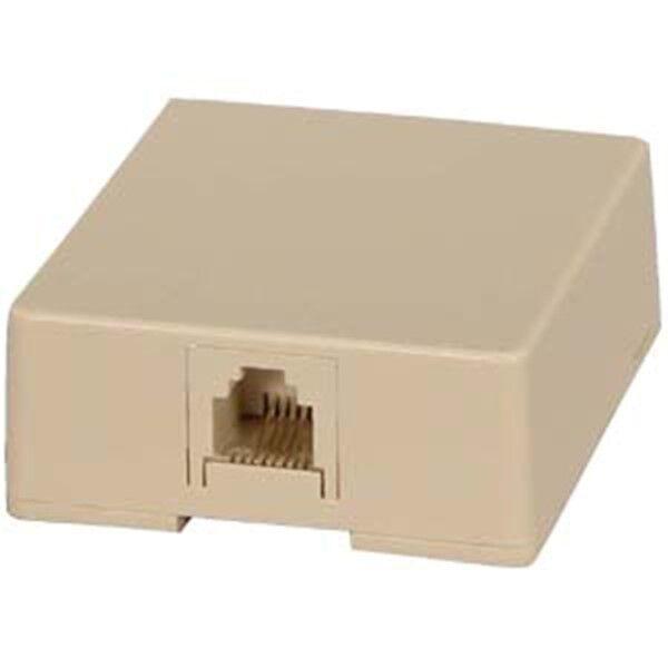 3x RJ11 6P4C Telephone//Phone Line Splitter Adapter Line1//Line2//Line1+Line2 White