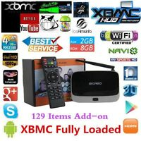 ANDROID TV BOX QUAD CORE 2GB FREE MOVIES PAY PER VIEW FULL HD