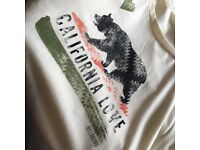 Billabong California Love Bear T Shirt