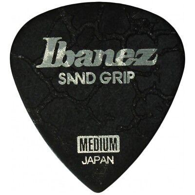 Ibanez Grip Wizard Sand Grip Crack Medium Black Plek Plektrum Plektren Plektron