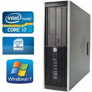 Gaming Intel i7 Quad Core 10gig Ram ATI Radeon HD Graphics 2 LCD Compatible HP 700gb Hard WiFi Win 10 Hdmi $270 Only