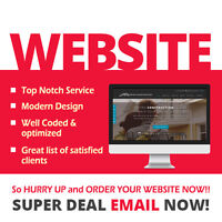 Neat & Cost-Effective Website for $199 ONLY – It's NOW or NEVER