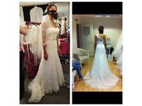 Never worn Martina Liana wedding dress