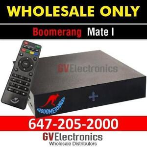 BOOMERANG MATE 4K (NEW)4K - QUADCORE - 2GB DDR3 - 8GB EMMC - DUAL WIFI
