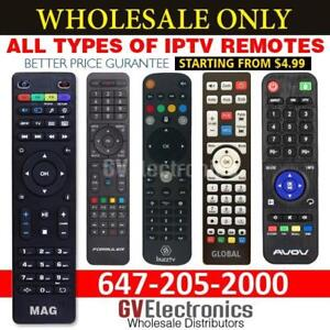 REMOTE IPTV MAG 250,254,322,BUZZTV,AVOV,DREAMLINK,GLOBAL MEDIA