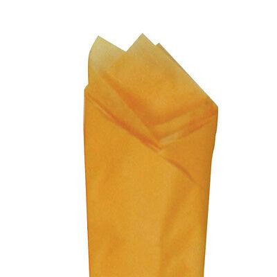 Apricot Orange Quality Premium Grade Color Tissue Paper 20x30 24 Sheets Pack