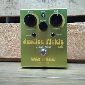 Way Huge Swollen Pickle MKII Jumbo Fuzz Effects Pedal Moorooka Brisbane South West Preview