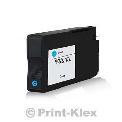 XXL Tintenpatrone für HP OfficeJet 6100e Printer 6600e All in One CN054AE Cyan (Hp All In One Drucker 6100)