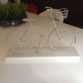 Decorative bicycle.
