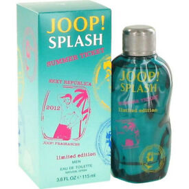 Joop Splash Summer Man by Joop Eau de Toilette Spray 115ml BRAND NEW & SEALED
