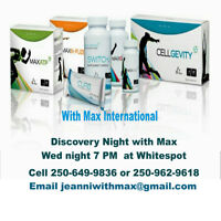 Discovery Night at Whitespot May 27th 7pm