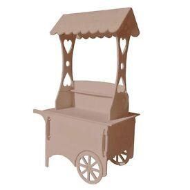 Brand new sweet cart