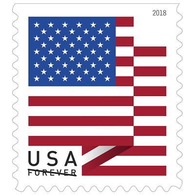 Usps New Us Flag 2018 Booklet Of 20