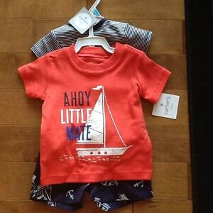 Carters 3 piece summer outfit-brand new with tags