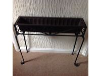 Cast iron plant trough- open to offers