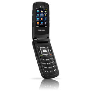 samsung rugby II sgh-a87a black tough rodger's flip phone Kingston Kingston Area image 1