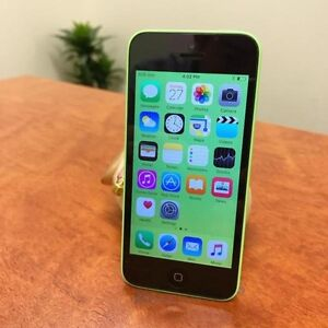 Pre owned iPhone 5C green 16G UNLOCKED au model with charger Calamvale Brisbane South West Preview