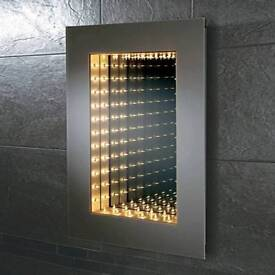 Bathroom Mirror 3D Infinity light