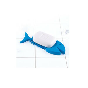 Lock-Lock-Silicon-SOAP-DISH-Fish-shape-BLUE